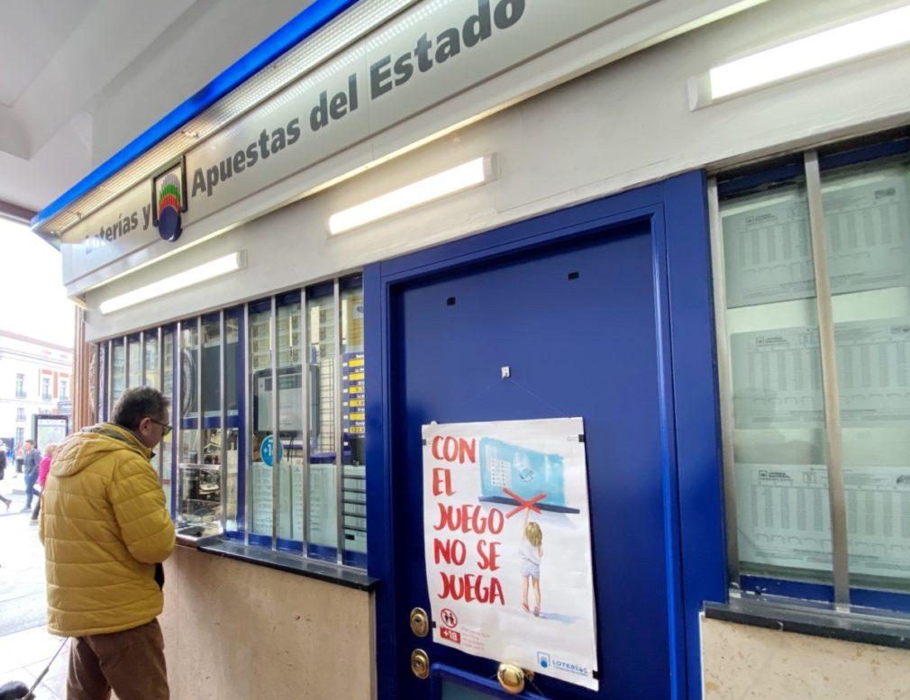 Imágenes de recurso de la Lotería de Navidad en Madrid