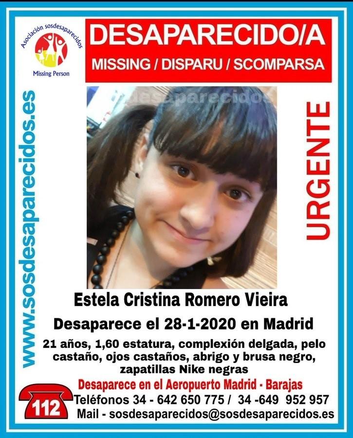 Sucesos.- Denuncian la desaparición de una joven en Barajas y su posible relación con una banda de tráfico de personas