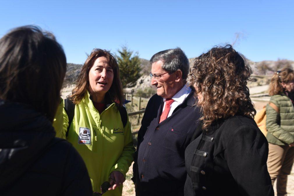 Granada.- Inaugurada en Zafarraya la Vía Ferrata 'John Hogbin' de 550 metros y 32 tramos de distintas dificultades
