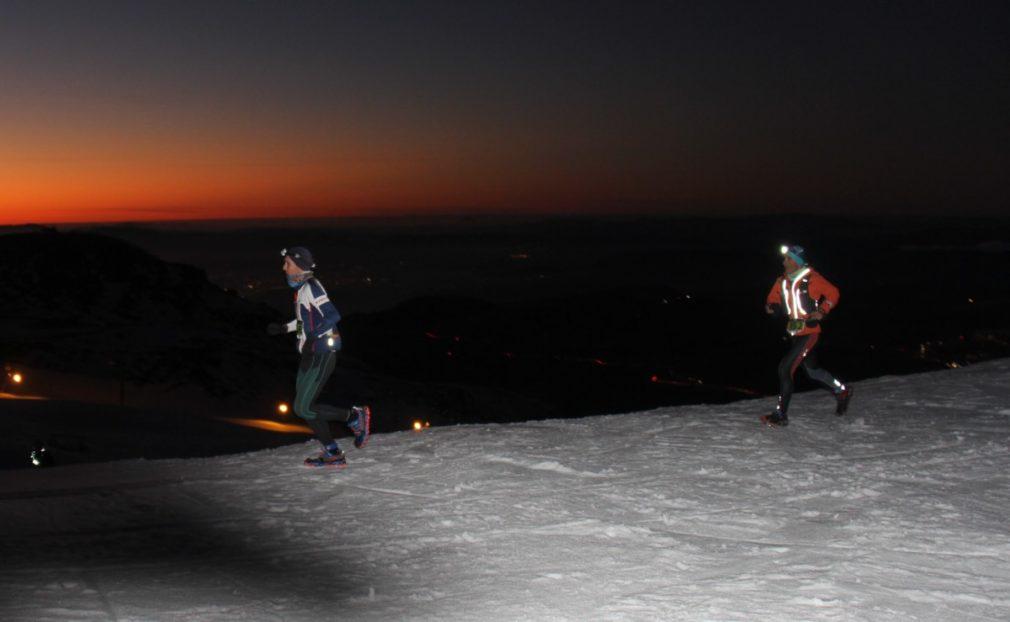 Granada.- Jacob Gutiérrez y Silvia Lara ganan por tercera vez el 'Snow Running' de Sierra Nevada