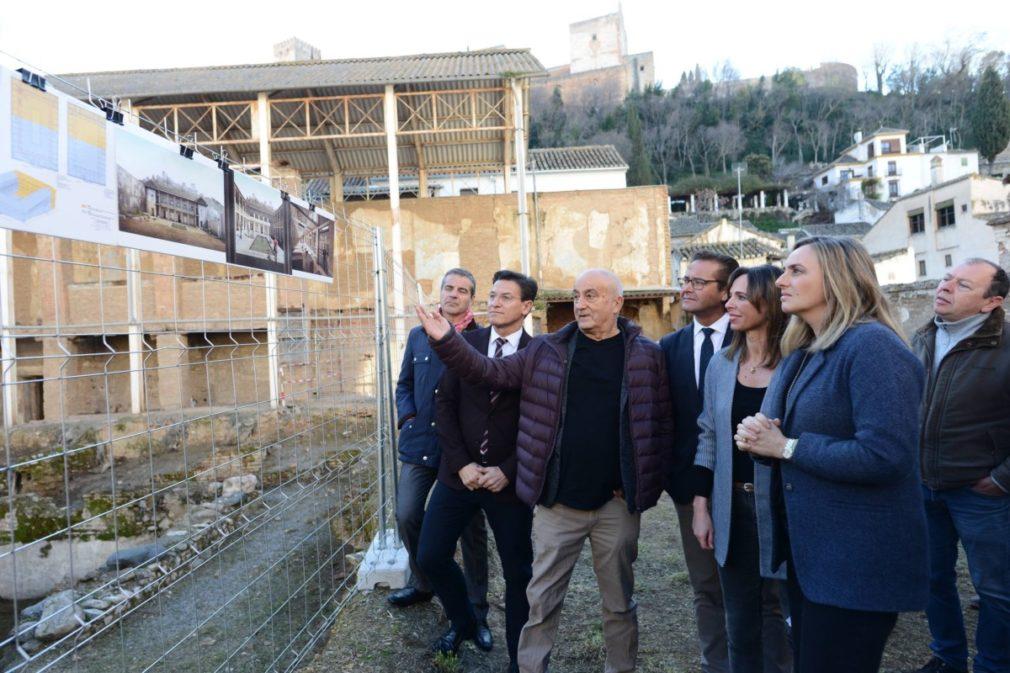 Granada.- La Alhambra inicia las obras del antiguo hospital nazarí del siglo XIV 'El Maristán'