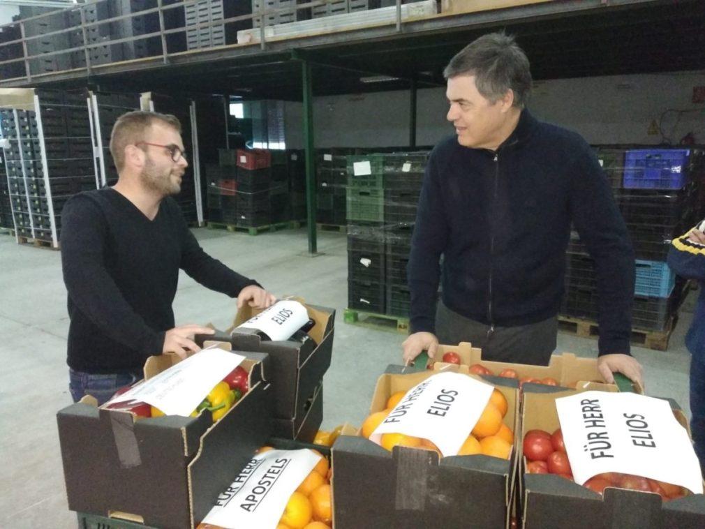 """Granada.- Carlos Rojas anuncia iniciativas en apoyo al campo y reclama a Pedro Sánchez que """"mueva ficha"""" por el sector"""