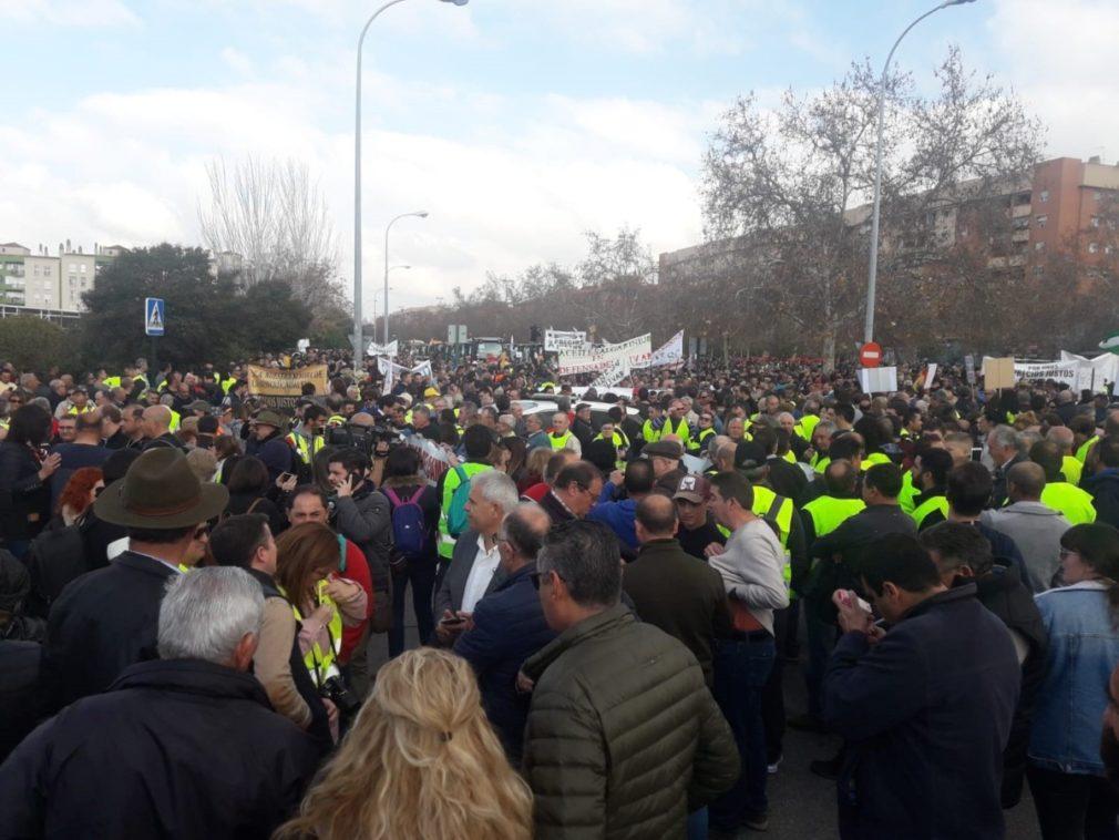 Granada.- El metro presentará retrasos al reducir la velocidad por la tractorada