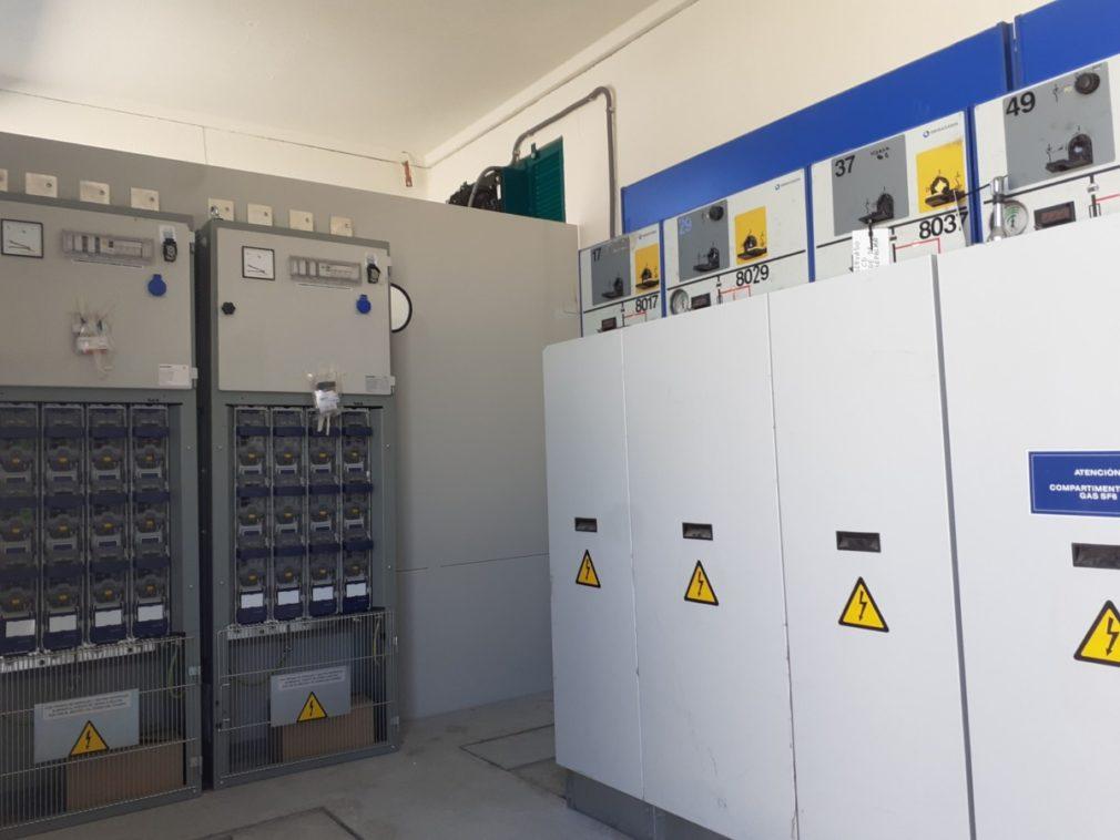 Granada.- Endesa completa la instalación interior del nuevo centro de transformación de la zona Norte de Granada