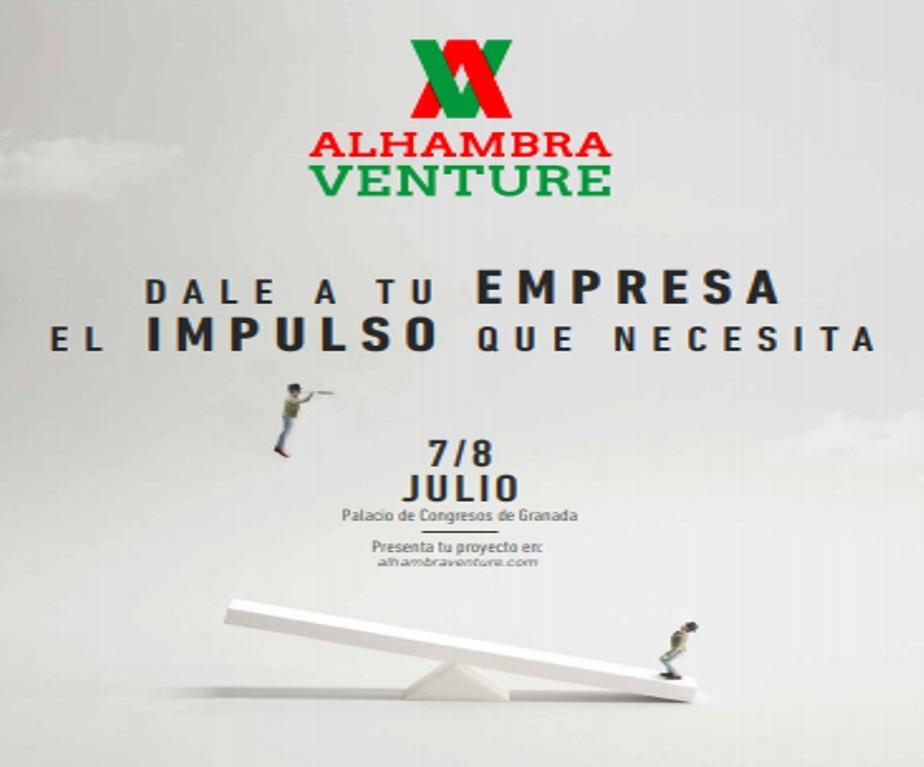 Granada.- Abierta la convocatoria para participar en la séptima edición de Alhambra Venture, que se celebra en julio