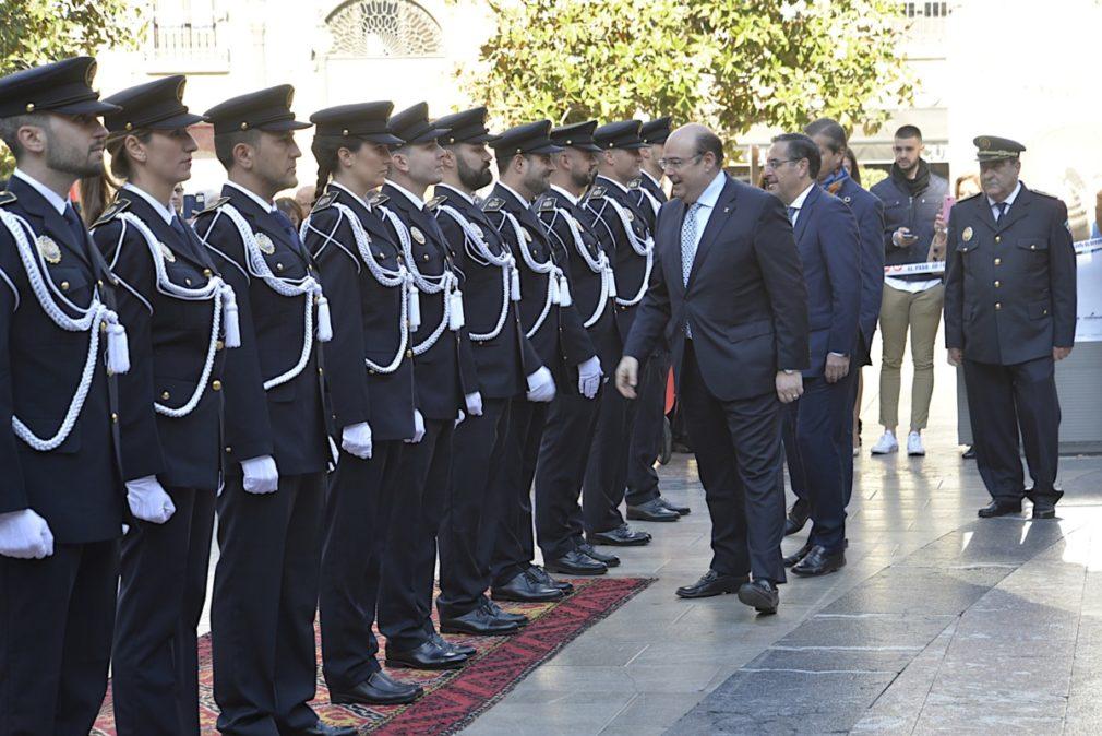 Granada.- El Ayuntamiento incorpora 12 nuevos agentes a la plantilla de la Policía Local