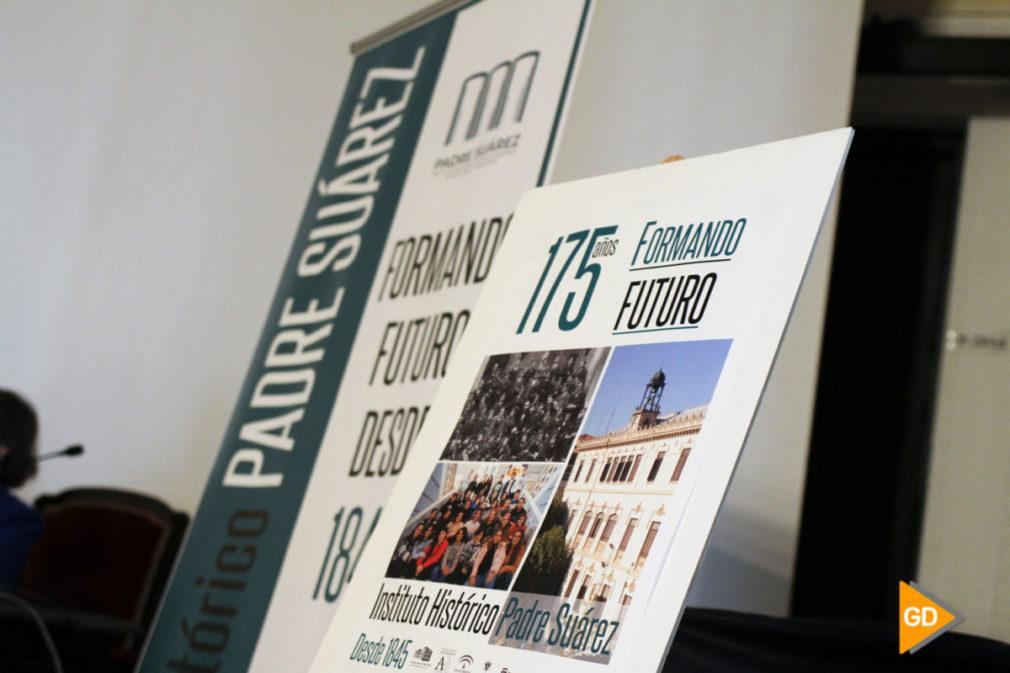 presentacion del programa del 175 aniversario del instituto Padre Suarez de Granada