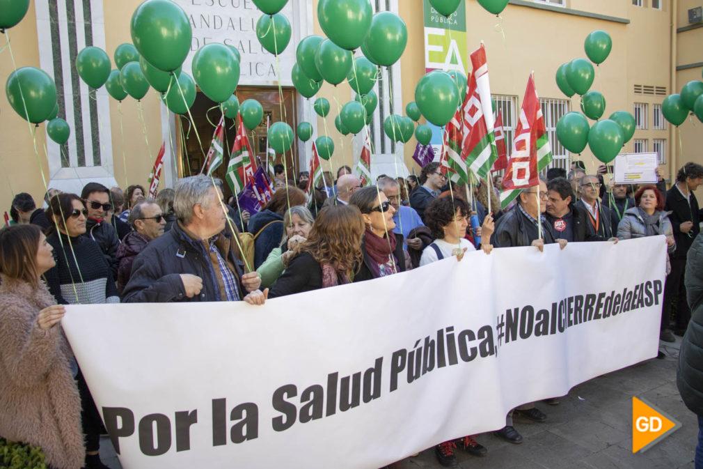 PROTESTA ESCUELA ANDALUZA DE SALUD - Dani B-3