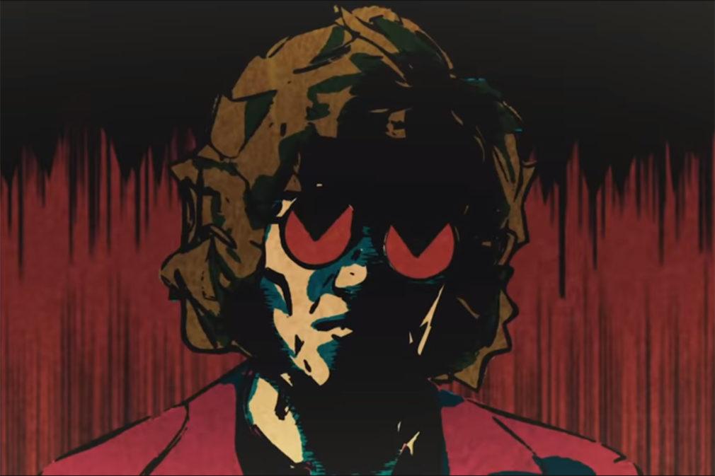 ilustracion Hombre de acción videoclip Enrique Bunbury