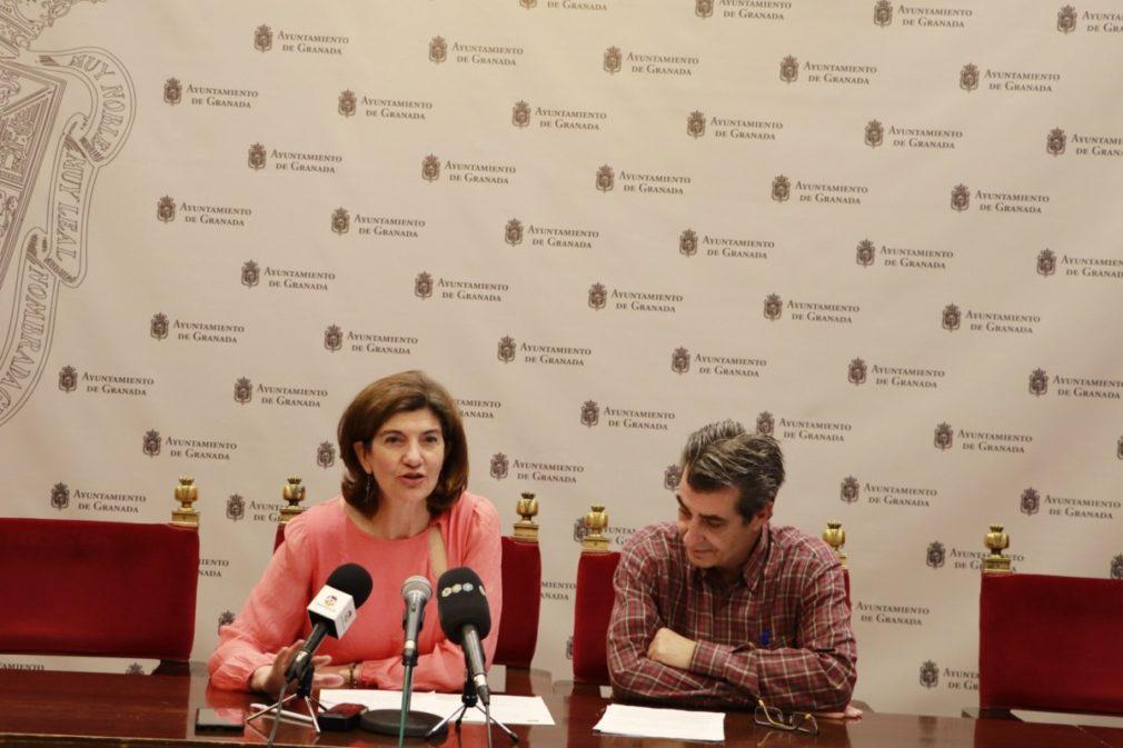 Elisa Cabrerizo y Antonio Cambril