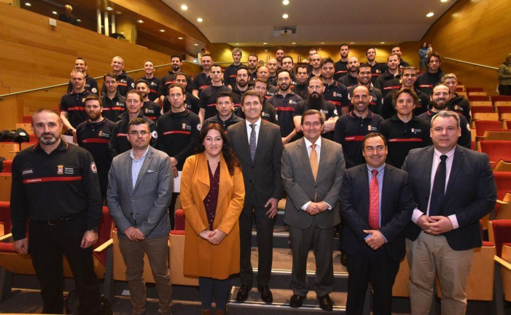 Granada.- La Agencia Provincial de Extinción de Incendios reordena su plantilla con la promoción de 48 bomberos