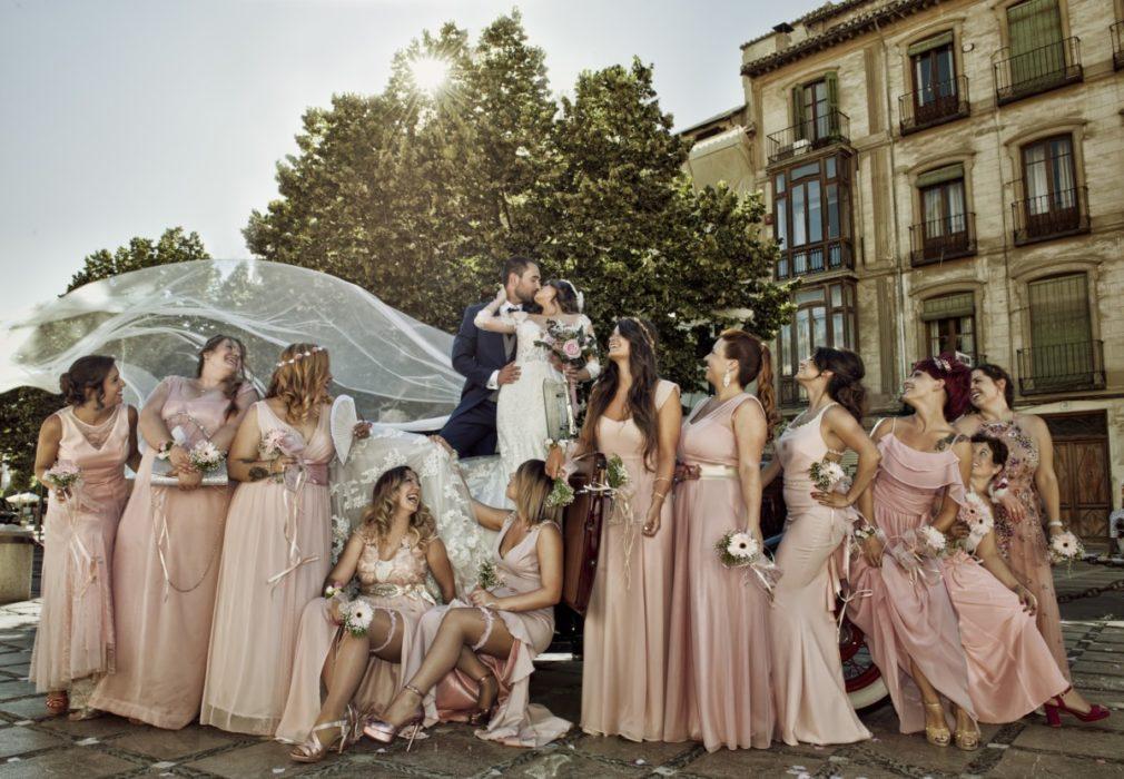 Retrato de boda - Foto: Faustino Maldonado Román
