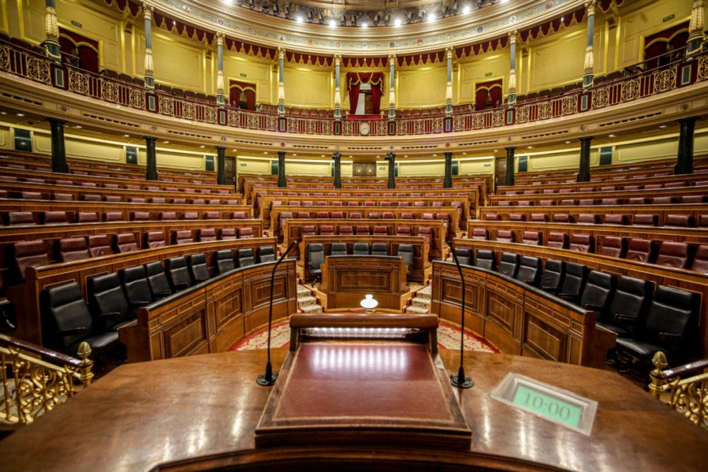 Se suspende el Pleno del Congreso de los Diputados por el Coronavirus