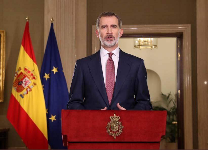 El Rey se dirige a la nación por la crisis del coronavirus