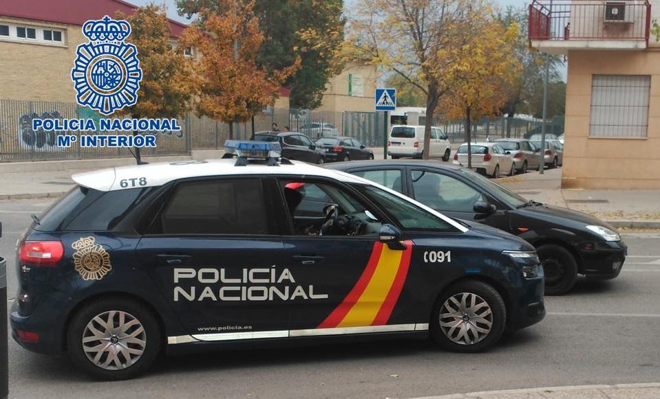 Policia Nacional vehiculo
