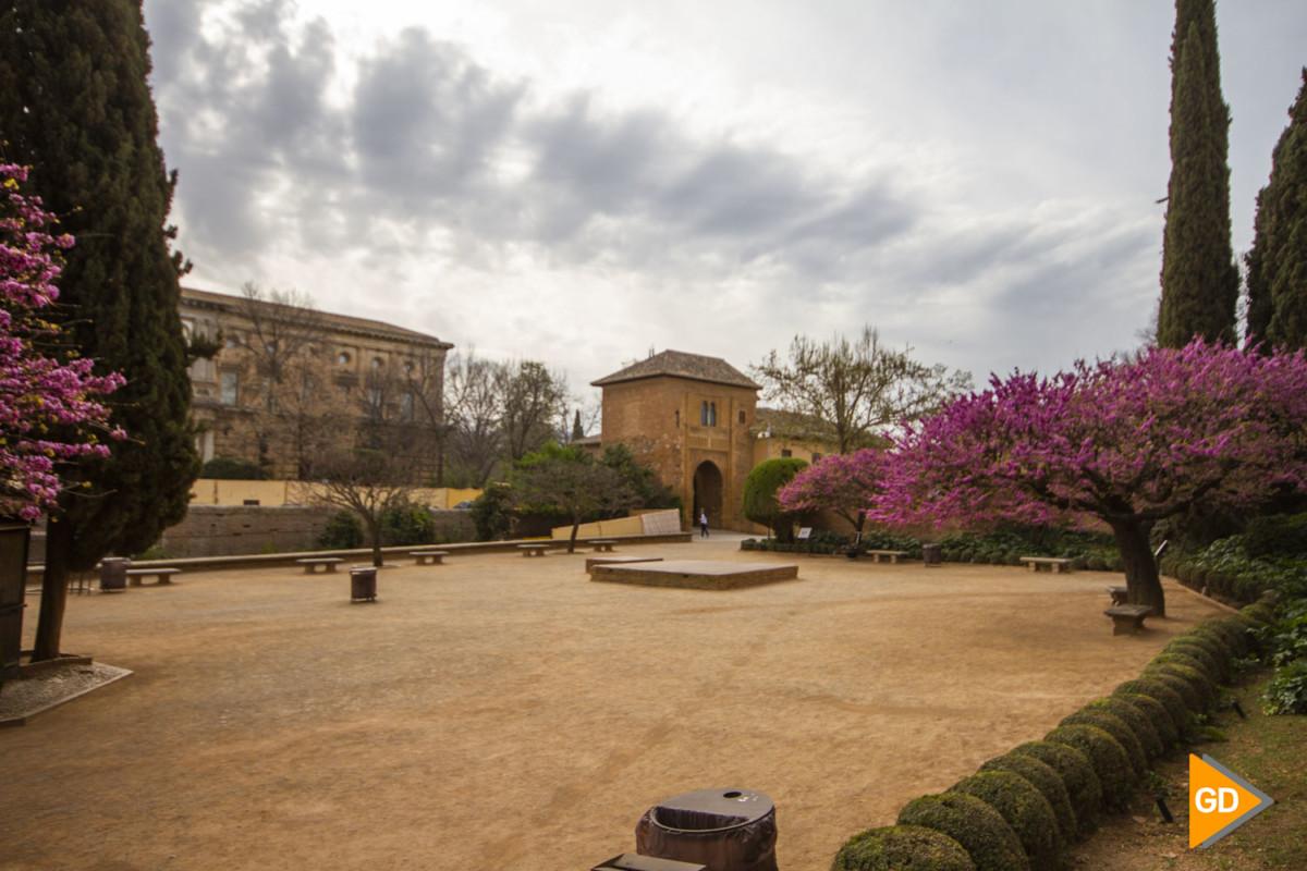 Alhambra tras el positivo de coronavirus en Granada
