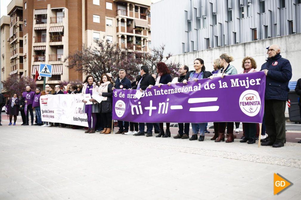 Manifiesto de UGT y CCOO por los actos del 8M en Granada