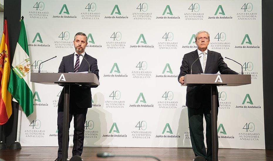 Junta Andalucía medidas express