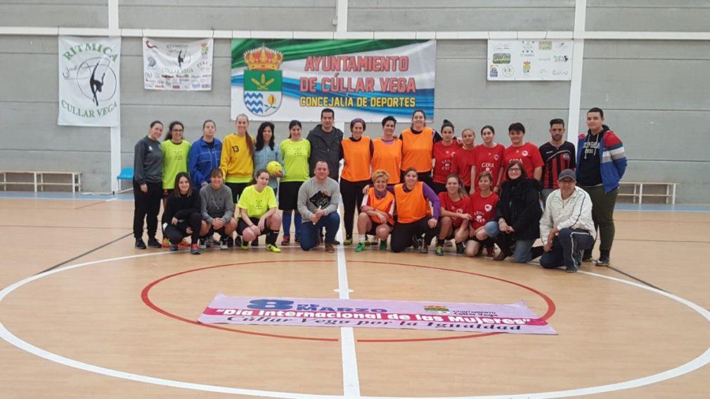 futbol sala femenino Cullar Vega