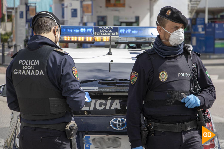 POLICIA LOCAL CORONAVIRUS CONTROL - Dani B-15