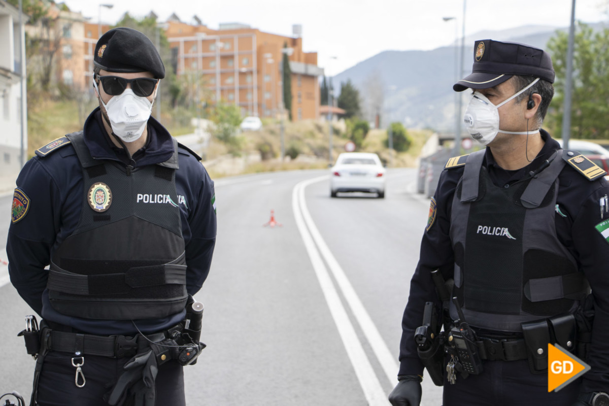 POLICIA LOCAL CORONAVIRUS CONTROL – Dani B-41