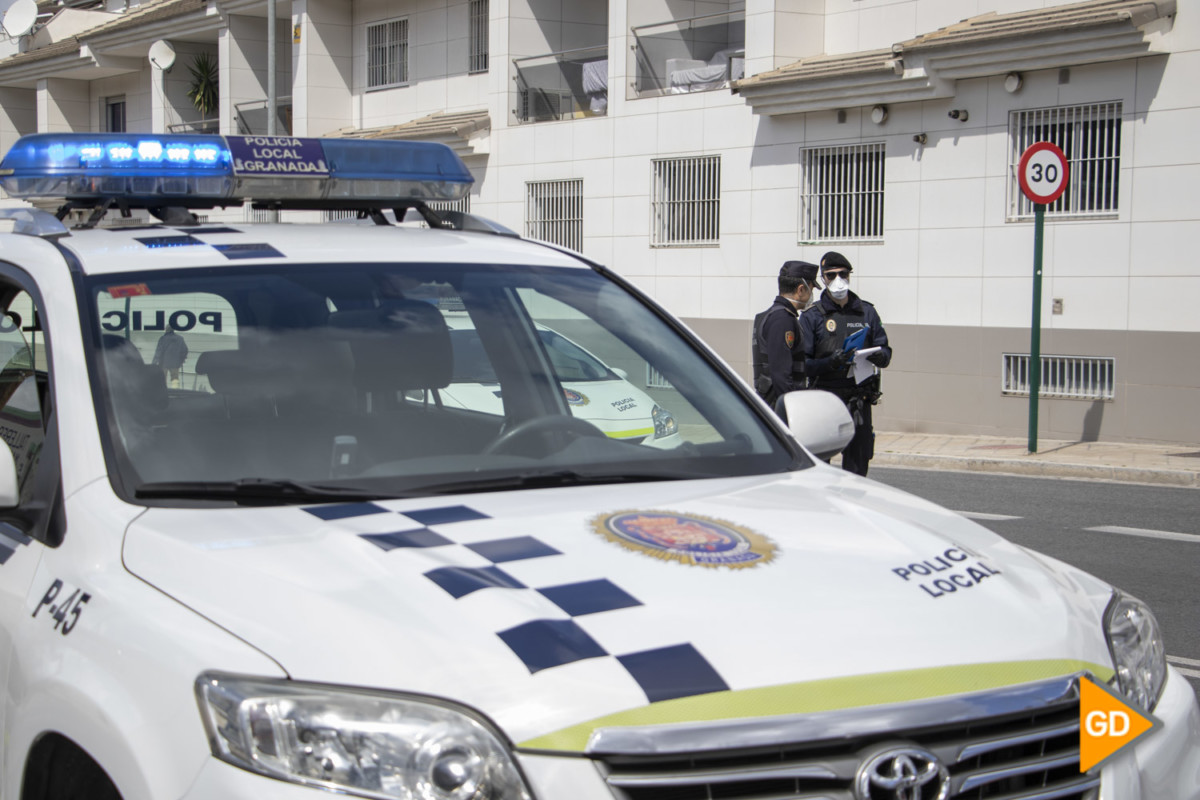 POLICIA LOCAL CORONAVIRUS CONTROL - Dani B-45