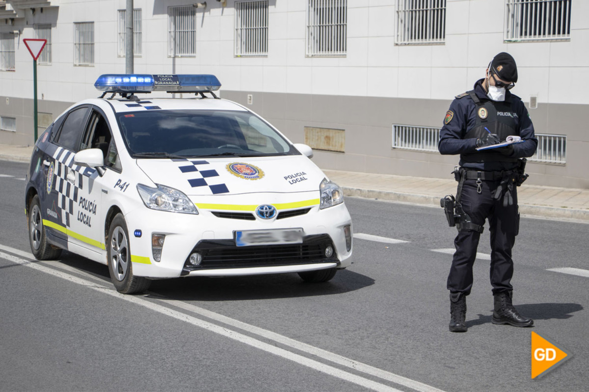 POLICIA LOCAL CORONAVIRUS CONTROL - Dani B-48