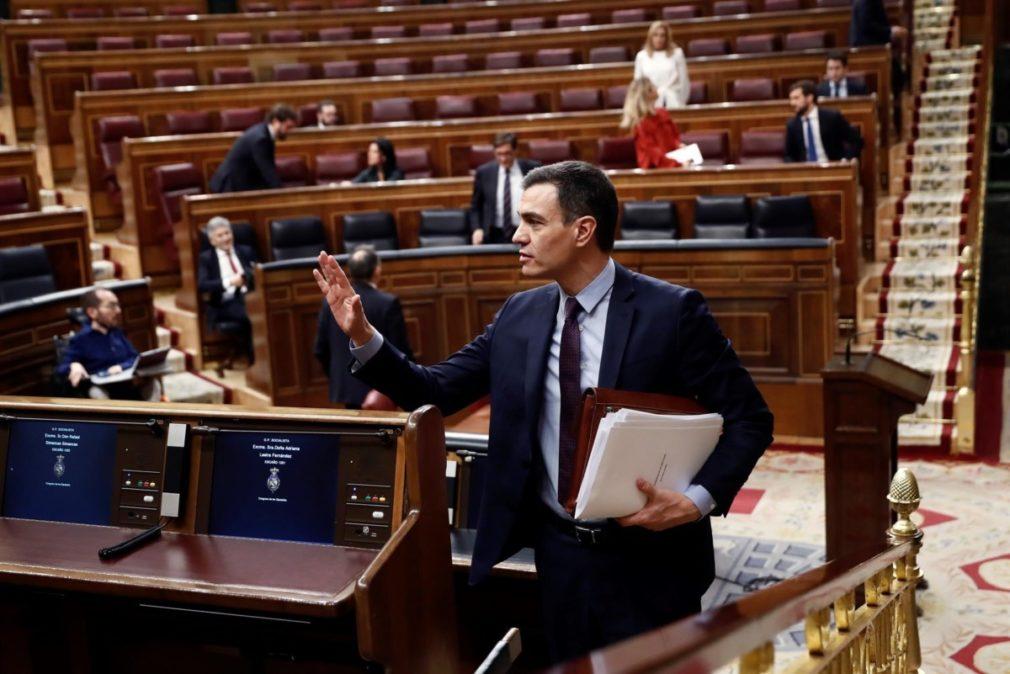 Pedro Sanchez en el Congreso