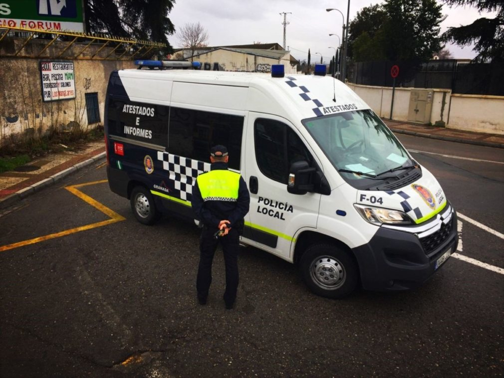 Policia Local en Granada - EP
