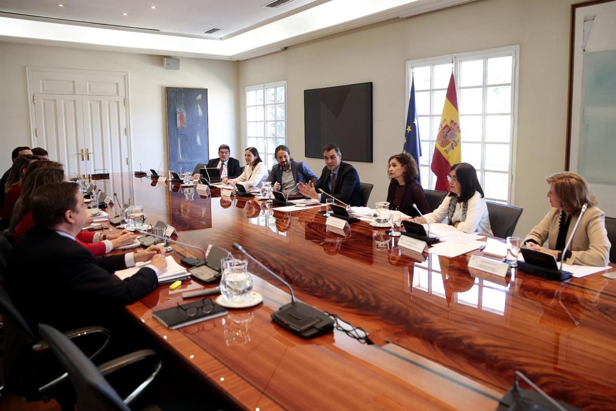 Reunión en Moncloa – EuropaPress