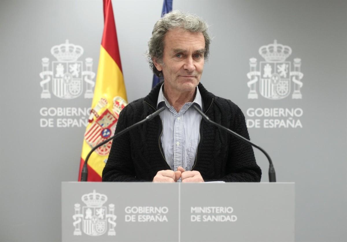 director del Centro de Coordinación de Alertas y Emergencias Sanitarias, Fernando Simón