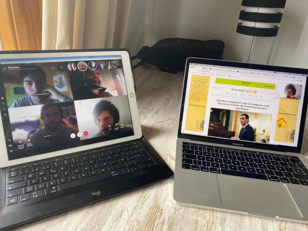 videollamada Skype GranadaDigital