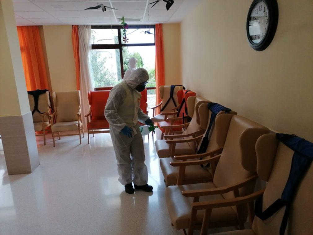 UME desinfección residencia