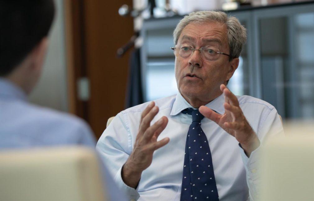 El consejero de Economía, Conocimiento, Empresas y Universidad, Rogelio Velasco - EP