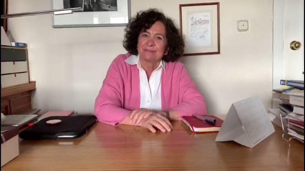 La rectora de la Universidad de Granada, Pilar Aranda