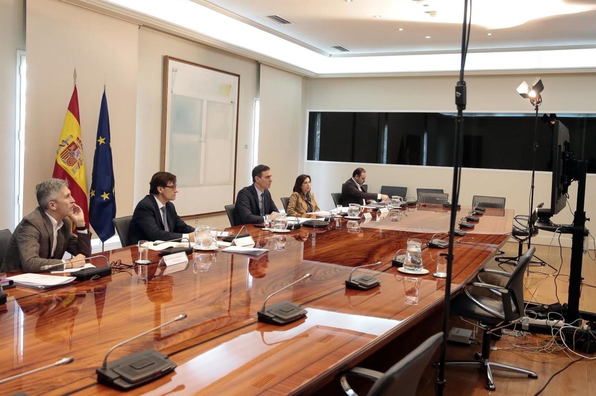 reunión gobierno con CCAA