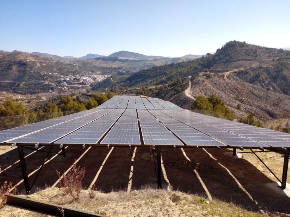 sistema de riego único en el mundo energía solar