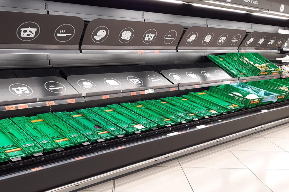supermercado estanterias vacias alerta coronavirus Foto MJ Ramírez