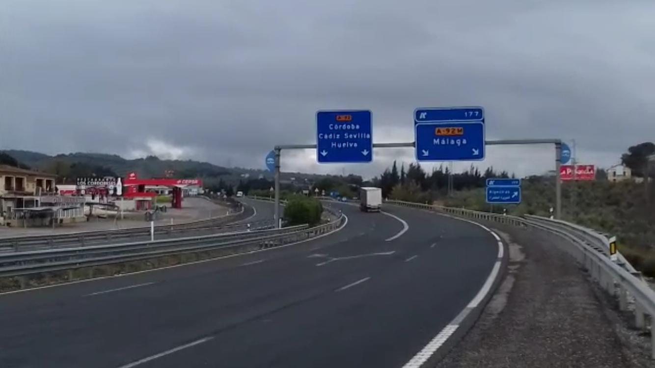 tráfico A-92