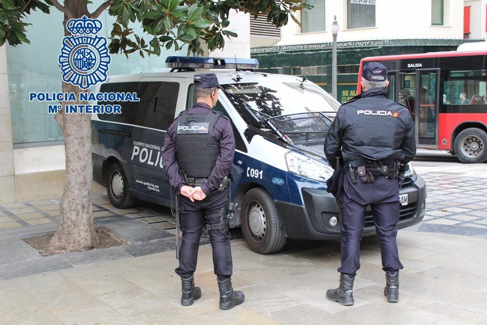 Agentes Policía Nacional Granada