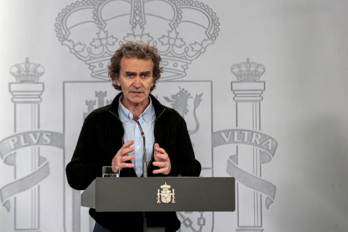 El director del Centro de Coordinación de Alertas y Emergencias Sanitarias del Ministerio de Sanidad, Fernando Simón. – Moncloa