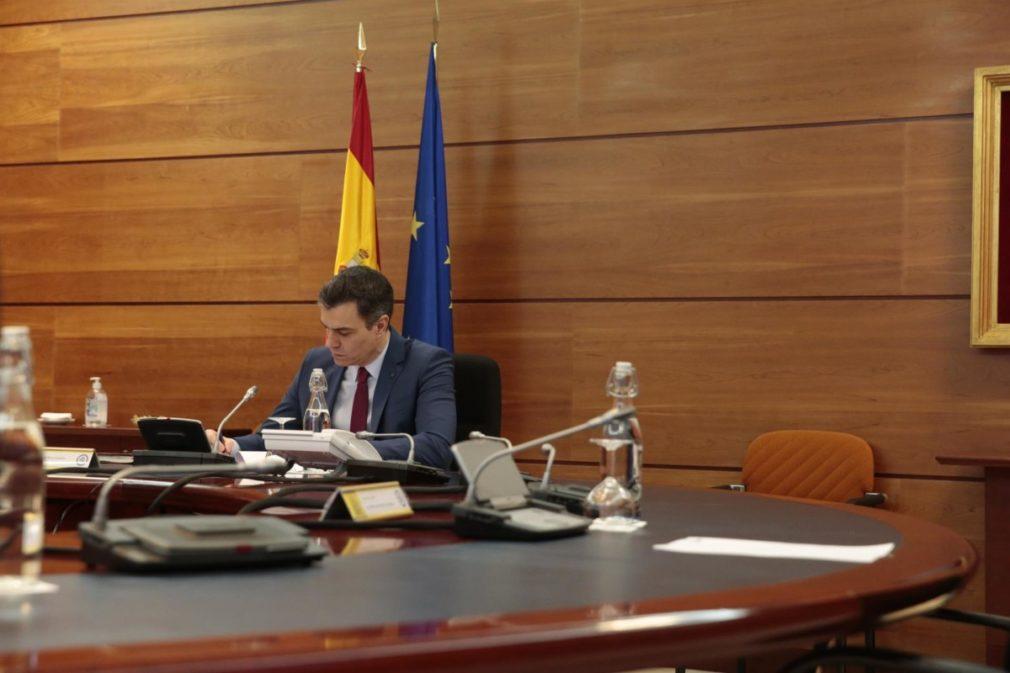 El presidente del Gobierno, Pedro Sánchez - Moncloa