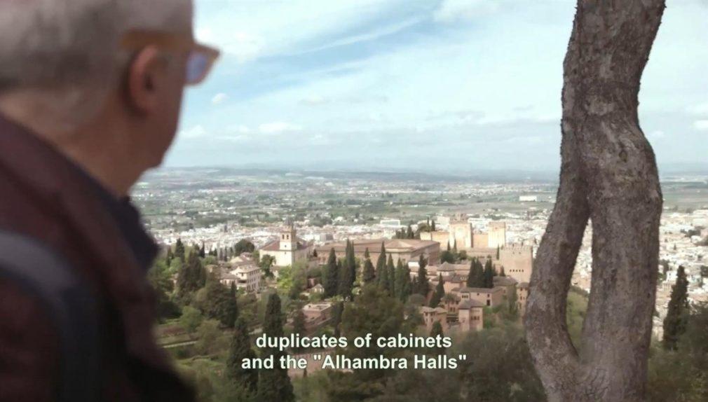Fotograma del documental 'La Alhambra en juego', de José Sánchez-Montes