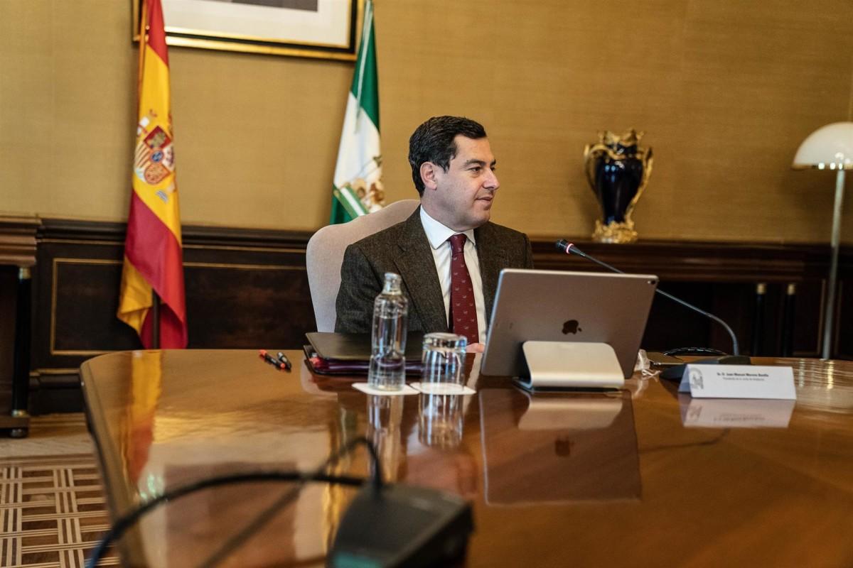 Juanma Moreno presidente Junta – Foto Junta