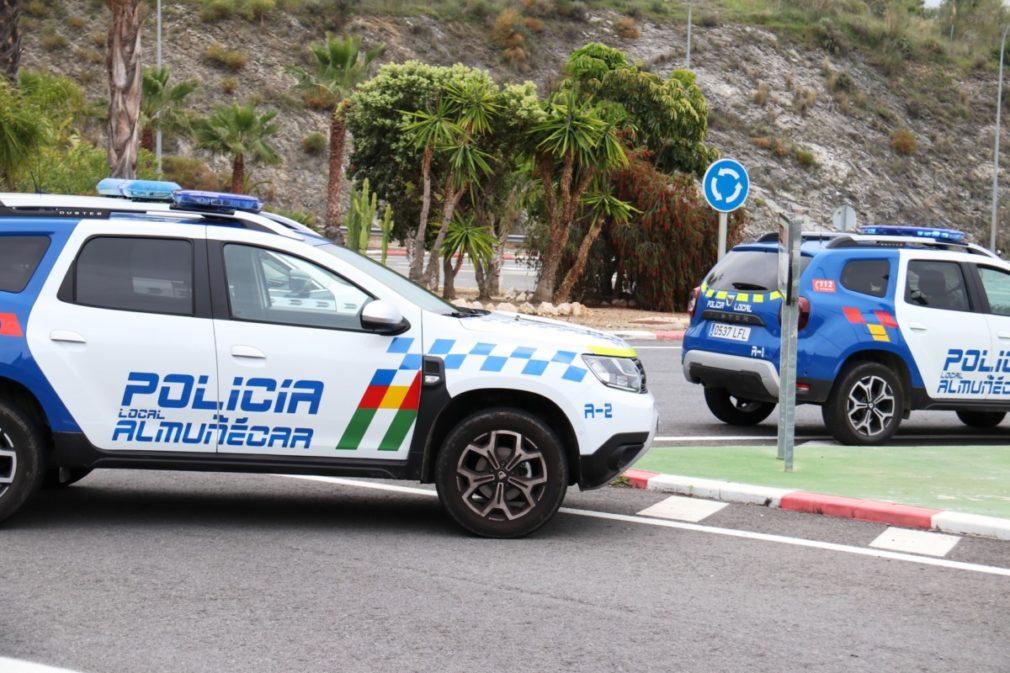POLICIA LOCAL CONTROL ACCESO A ALMUÑECAR 20