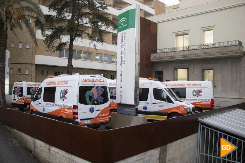 VIRGEN DE LAS NIEVES COVID19 HOSPITAL SANITARIOS URGENCIAS HOMENAJE CORONAVIRUS - Dani B-19