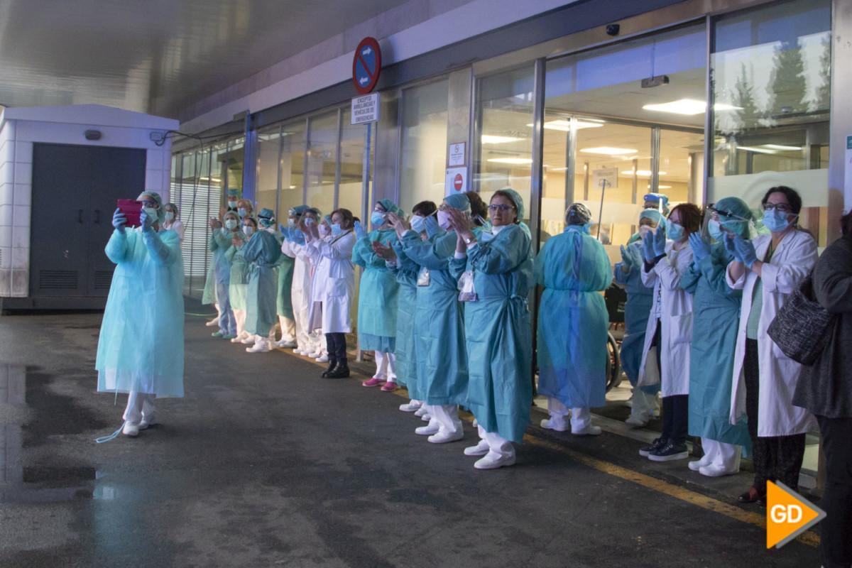 VIRGEN DE LAS NIEVES COVID19 HOSPITAL SANITARIOS URGENCIAS HOMENAJE CORONAVIRUS – Dani B-27