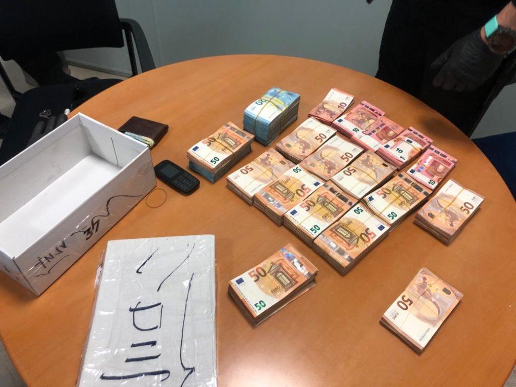 dinero incautado control Policia Local