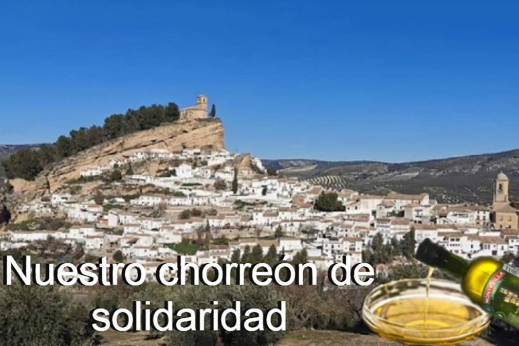 chorreon de solidaridad Montefrío