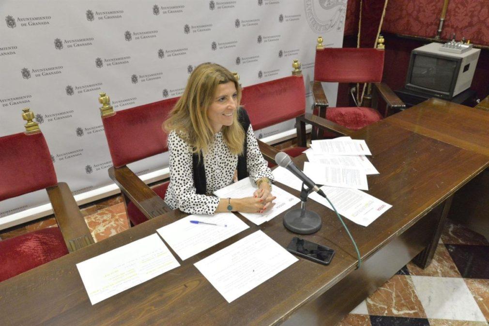 La concejal de Granada Eva Martín